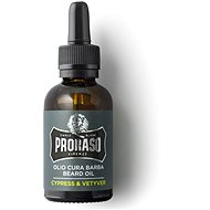 PRORASO Cypress and Vetyver 30 ml - Olej na fúzy