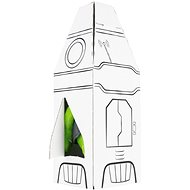 Plyšový mimozemšťan Alza II s raketou - Plyšová hračka
