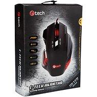 C-TECH GM-01R Akantha (červené podsvietenie) - Herná myš