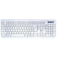 C-TECH WLKMC-01 CZ/SK biela - Set klávesnice a myši