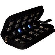 Mediarange BOX99 na flashdisky a SD karty, čierny - Puzdro