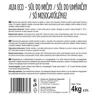 AlzaEco soľ do umývačky riadu 4 kg - Eko soľ do umývačky