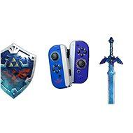Nintendo Switch Joy-Con ovládače Hylian Shield and Master Sword - Gamepad