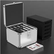 """ORICO 10× 2.5""""/3.5"""" HDD/SSD protection box - Puzdro na pevný disk"""