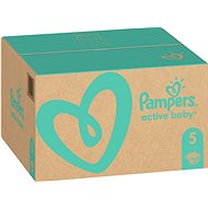 PAMPERS Active Baby veľ. 5 Junior (150 ks) – mesačné balenie - Detské plienky