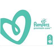 PAMPERS Premium Care veľ. 5 Junior (136 ks) – mesačné balenie - Detské plienky