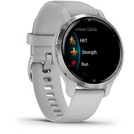 Garmin Venu2S Silver/Gray Band - Smart hodinky