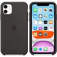 Apple iPhone 11 Silikónový kryt čierny - Kryt na mobil