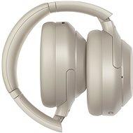 Sony Hi-Res WH-1000XM4, strieborno-sivé, model 2020 - Bezdrôtové slúchadlá