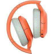 Sony Hi-Res WH-H910N, oranžovo-sivé - Bezdrôtové slúchadlá