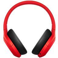 Sony Hi-Res WH-H910N, červeno-čierne - Bezdrôtové slúchadlá
