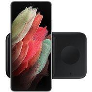Samsung Duálna bezdrôtová nabíjačka čierna, bez kábla v balení - Bezdrôtová nabíjačka
