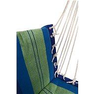 Cattara na sedenie, 95 × 50 cm, modro-zelená - Hojdacia sieť