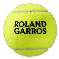 Wilson ROLAND GARROS ALL CT balení 3 ks - Tenisová loptička