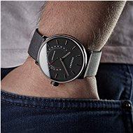 Sequent SuperCharger 2.1 Premium HR ónyxovo čierne s čiernym/červeným remienkom - Smart hodinky