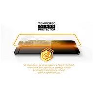 Tempered Glass Protector Rámčekové pre Nokia 5.4, čierne + sklo na kameru - Ochranné sklo