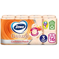 ZEWA Deluxe Cashmere Peach (16 ks) - Toaletný papier