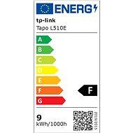 TP-LINK Tapo L510E, Smart WiFi žiarovka - LED žiarovka