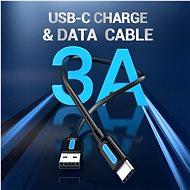 Vention Type-C (USB-C) <-> USB 2.0 Charge & Data Cable 0,5 m Black - Dátový kábel