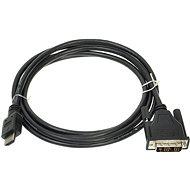 ROLINE DVI – HDMI prepojovací, tienený, 2 m - Video kábel
