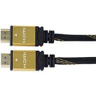 PremiumCord GOLD HDMI High Speed prepojovací 5m - Video kábel