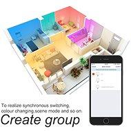 WOOX Smart LED RGBW Spot GU10 - LED žiarovka