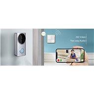 Woox Smart Videozvonček R4957 - Zvonček s kamerou