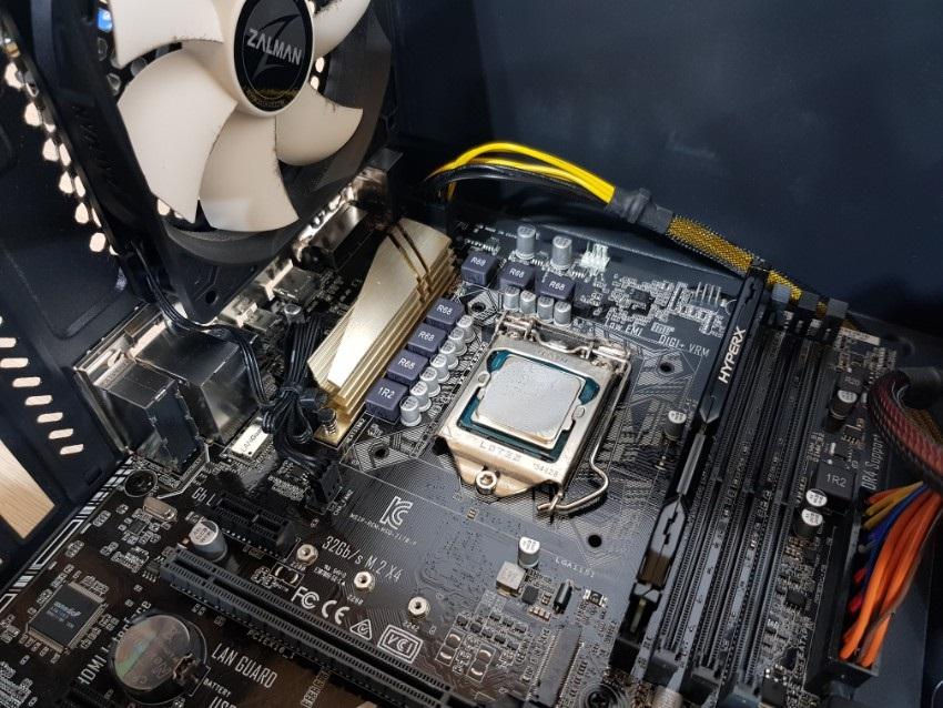 CPU bez chladiča