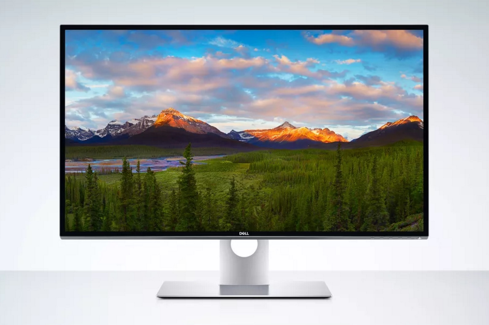 8K monitor Dell UltraSharp