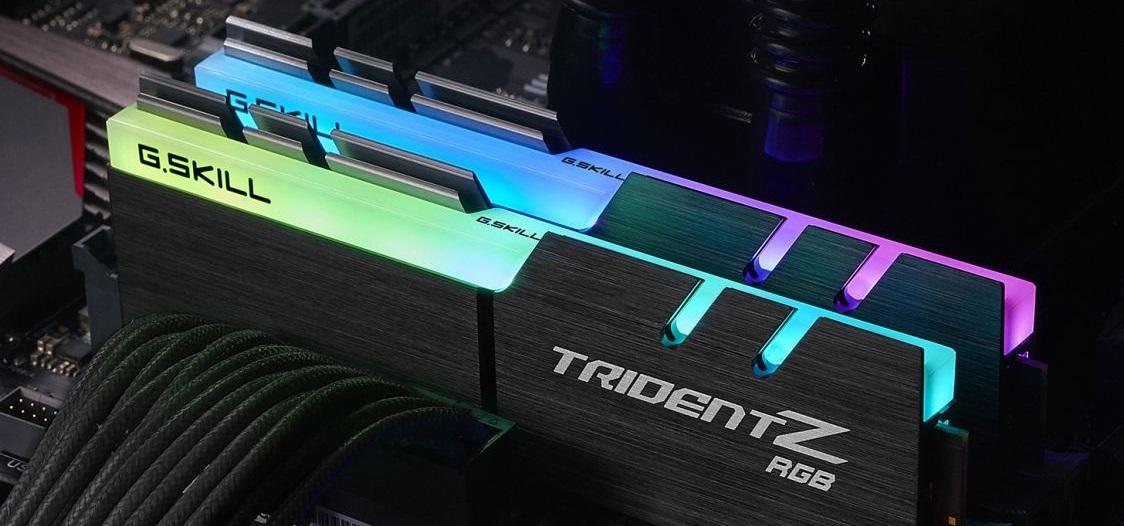 Operačné pamäte DDR4 TridentZ 3200C16 od G.Skill