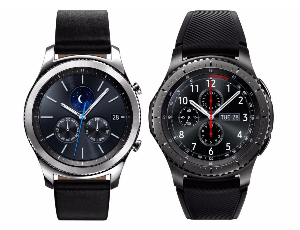 Inteligentné hodinky Samsung Gear S3 Frontier; Gear S3 Classic