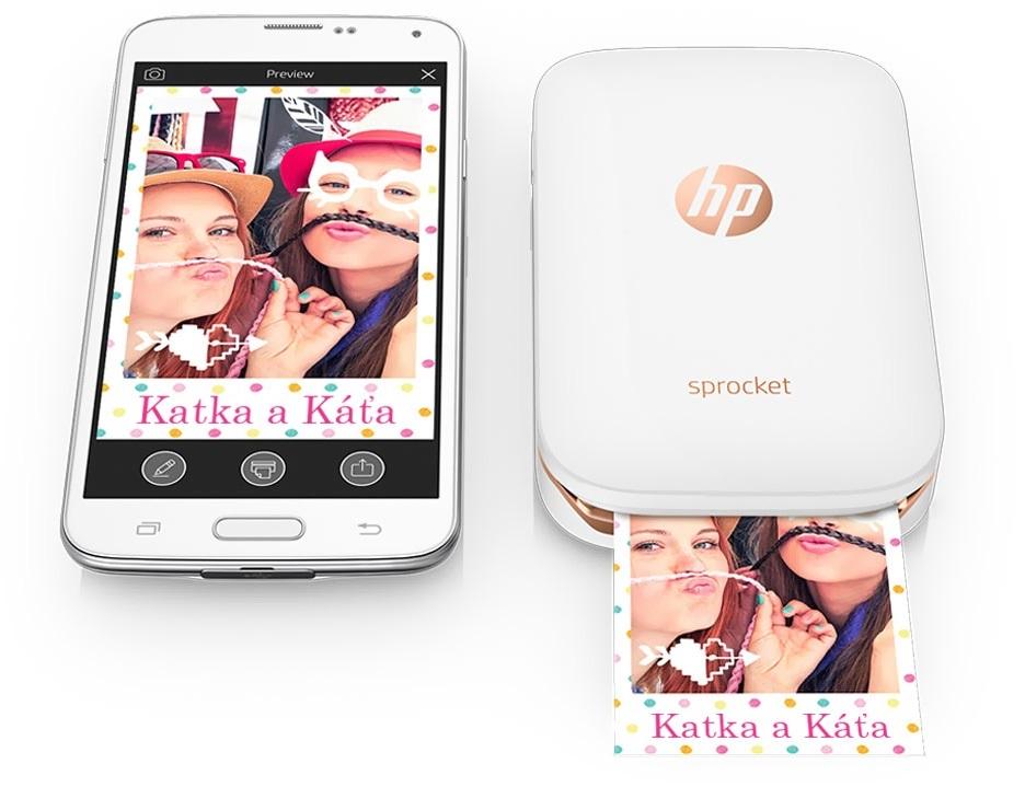 Tlačiareň HP Sprocket