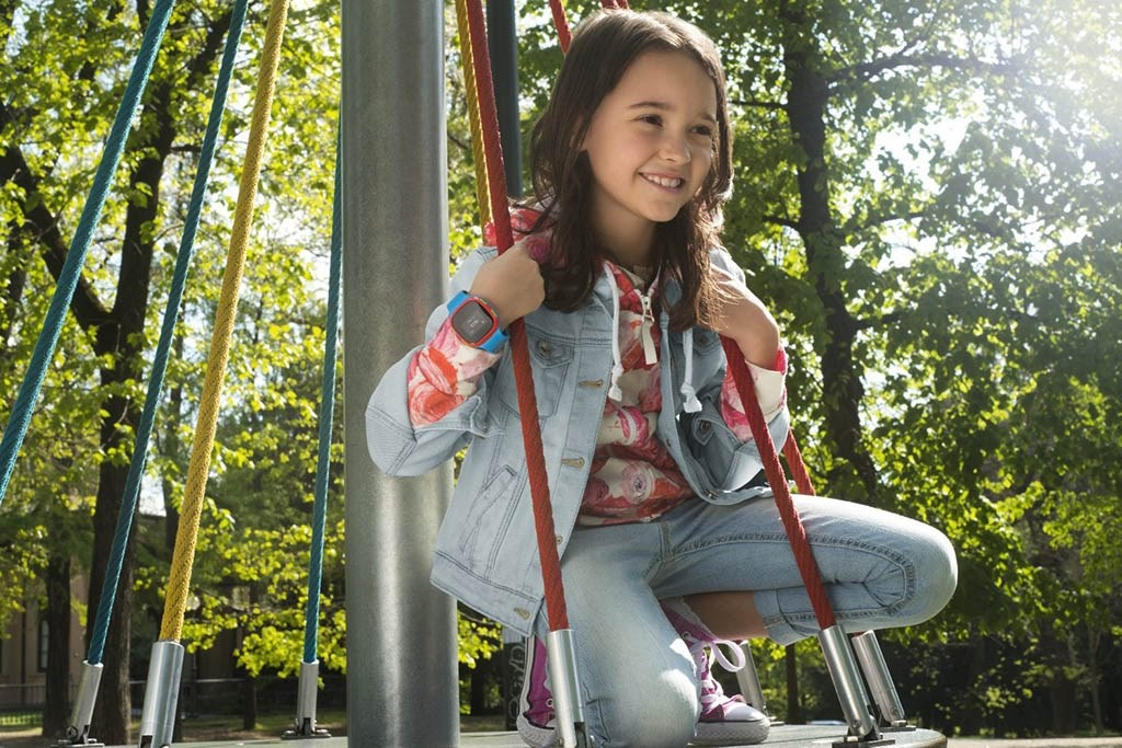 Inteligentné hodinky pre deti Alcatel MOVE TIME Track & Talk
