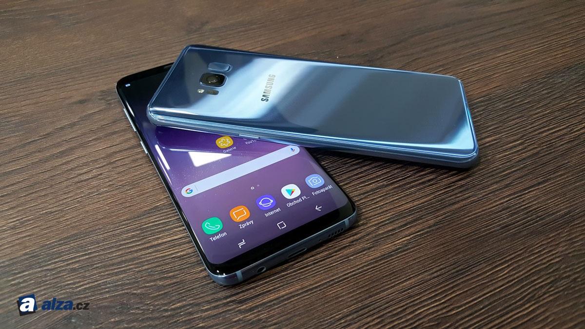 Samsung Galaxy S8 a S8+, porovnanie veľkostí