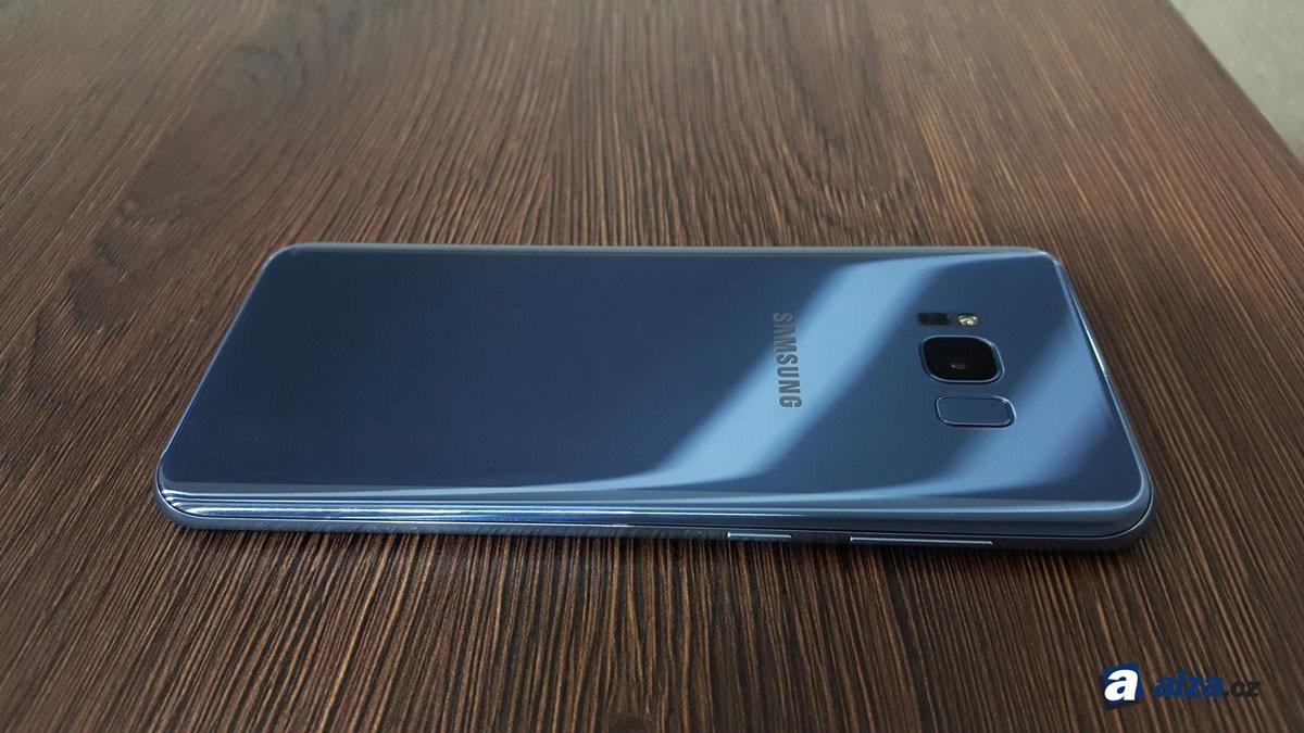 Samsung Galaxy S8+, zadná strana