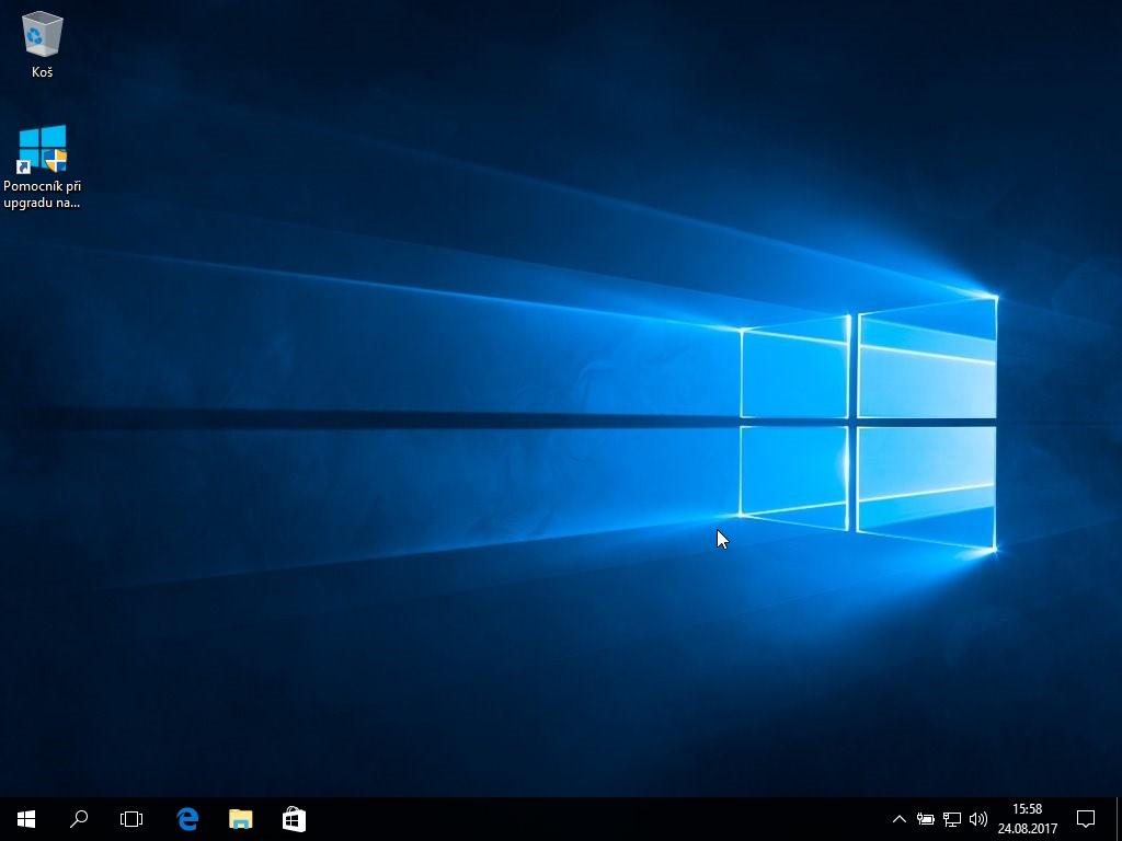 Trináste okno inštalácie Windows 10