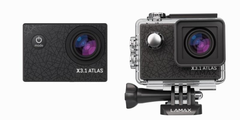LAMAX X3.1 Atlas je akčná kamera pre každého