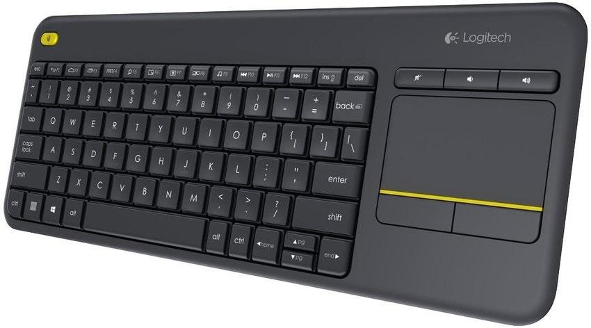 Bezdrôtová klávesnica Logitech Wireless Touch K400 Plus