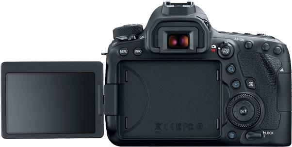 e9a3f18a5 ... Canon EOS 6D Mark II fotoaparát; displej