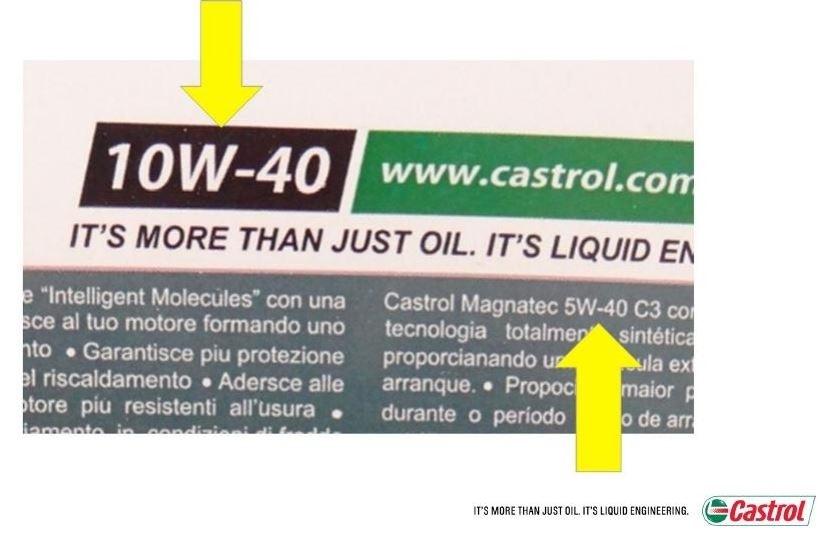 Falošné oleje; chyby na etiketách