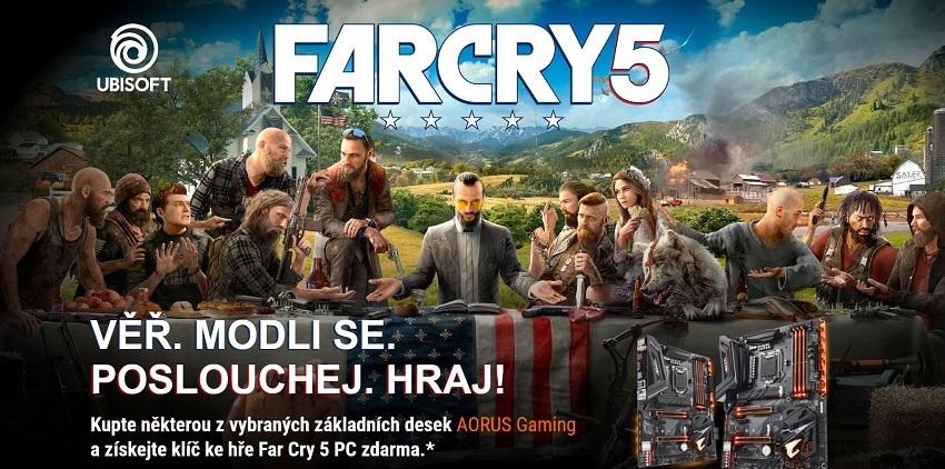 Kúpte základnú dosku AORUS Gaming Z370/H370 a získajte kľúč k Far Cry 5