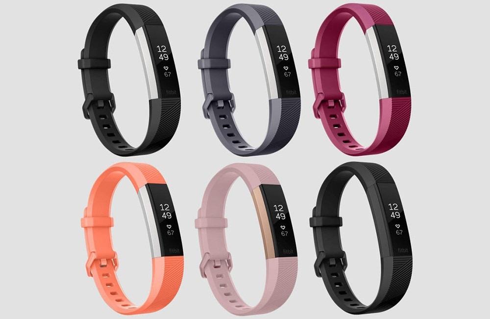 Fitbit Alta HR, farebné varianty