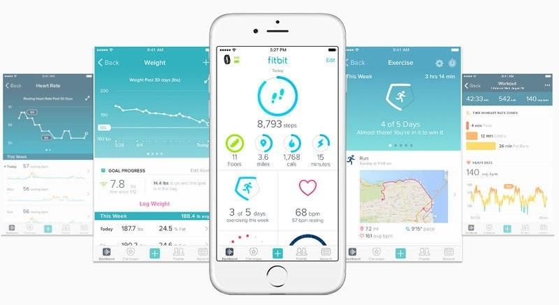 Fitbit mobilná aplikácia