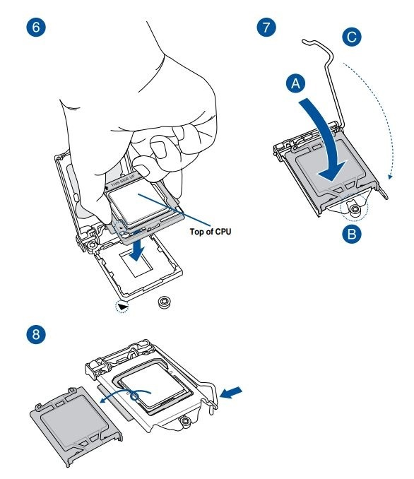 Jak sestavit PC. Inštalácia procesora Intel do pätice (socketu) základnej dosky
