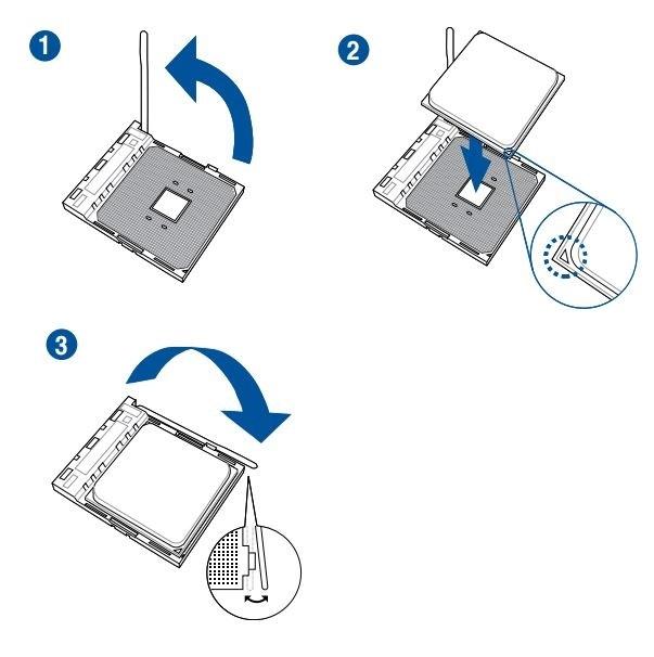 Ako postaviť počítač. Návod, ako umiestniť procesor AMD do pätice (socketu) základnej dosky