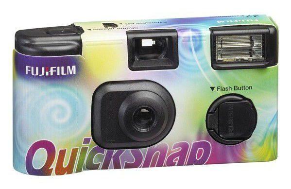 Jednorázový fotoaparát Fujifilm QuickSnap dúhový 400/27