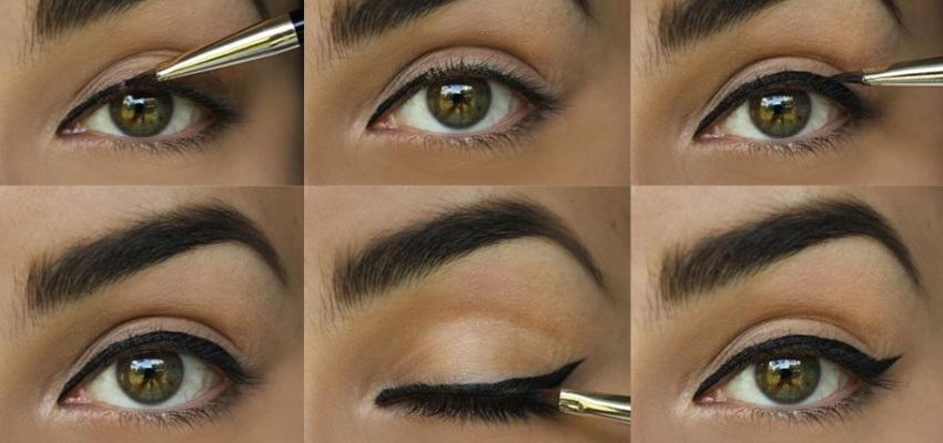 Ako namalovať očné linky – krok za krokom