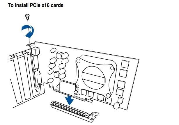 Zostavenie PC. Návod, ako zapojiť grafickú kartu (GPU) do základnej dosky cez PCIe konektor
