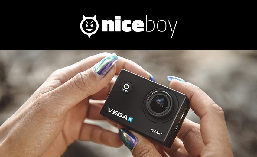 Niceboy VEGA 6 star, to najlepšie pre skutočné 2K natáčanie