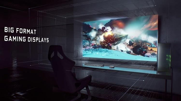 Nvidia BFGD; CES 2018; Big Format Gaming Displej